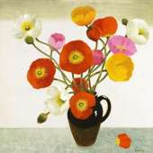 Mary Fedden RA limited edition giclee 'Poppies 2006'