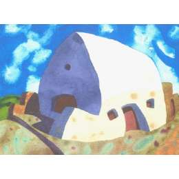 "Ian Rolls giclee print ""The White House, St Ouen's"""