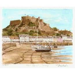 "Glyn Martin limited edition colour print ""Gorey Castle"""