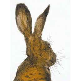 "Sonie Rollo signed limited edition etching ""Hare Brained"""