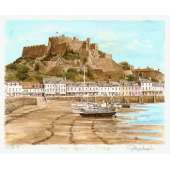 "Glyn Martin limited edition colour print ""Gorey Castle"""