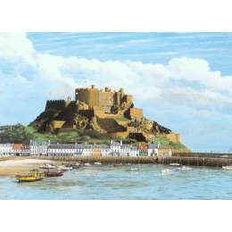 Robert Wolfenden limited edition colour print 'Gorey Castle'