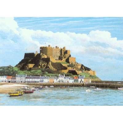 Robert Wolfenden limited edition colour print 'Gorey Castle'
