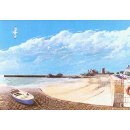 Robert Wolfenden limited edition colour print 'La Rocque'