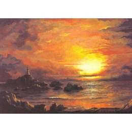 Robert Wolfenden limited edition colour print 'Evening Glory'