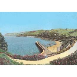 Robert Wolfenden limited edition colour print 'Bonne Nuit Bay'