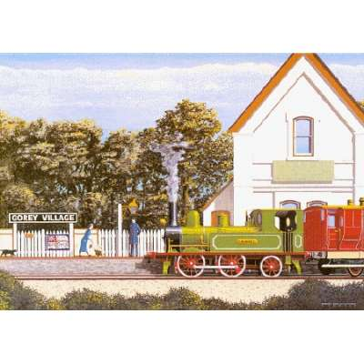 Robert Wolfenden limited edition colour print 'All Aboard'