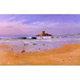 "Gerald Palmer colour reprodution print ""St Ouen's Bay"""