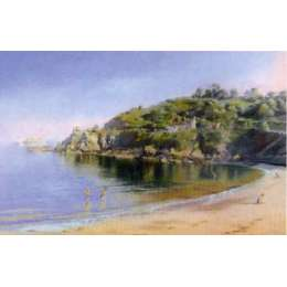 "Gerald Palmer colour reprodution print ""Anneport"""