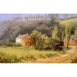 "Diana Bowen limited edition print ""Queen's Valley Farm"""