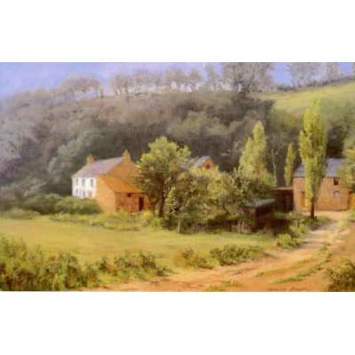 """Diana Bowen limited edition print """"Queen's Valley Farm"""""""