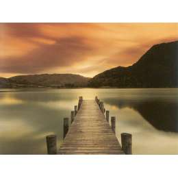 "Mel Allen photograph on canvas ""Ullswater"""