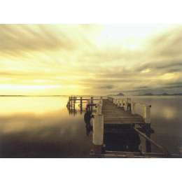 "Anthony Roach photograph on canvas ""Salamander Bay"""