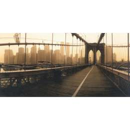 "Macduff Everton photo on canvas ""Brooklyn Bridge, New York"""