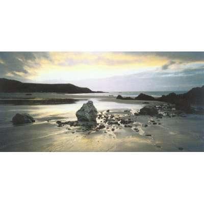 "Joe Cornish photo on canvas ""Whistling Sands"""