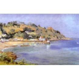 "Diana Bowen colour reproduction print ""Rozel Bay"""