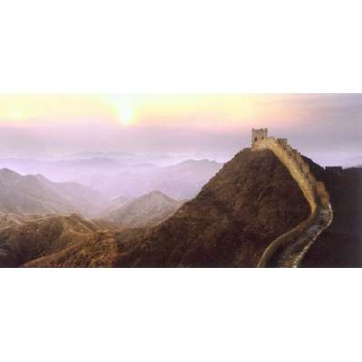 """Steve Bloom photo on canvas """"Great Wall of China"""""""