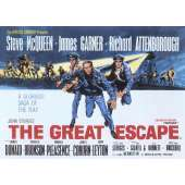 """Poster printed on canvas """"The Great Escape"""""""
