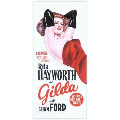 "Poster printed on canvas ""Gilda"""
