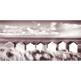 "Rod Edwards photo on canvas ""Southwold Beach Huts"""