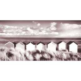 "Rod Edwards photo on canvas ""Southwold Beach Huts"""