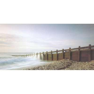 "Photo on canvas ""Pebbled Beach"""