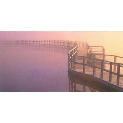 """Photo on canvas """"Boardwalk, Canada"""""""