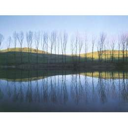 "Photo on canvas ""Lago di San Valentino, Emilia"""