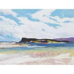 "Donald Hamilton Fraser silkscreen ""Oldshoremore Bay"""