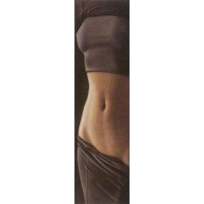 Willi Kissmer original etching 'Langer Halbakt V'
