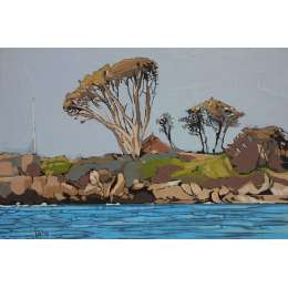 Louise Ramsay 'Big Tree - Blue Sea'