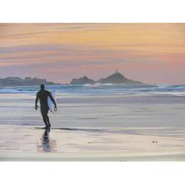 Louise Ramsay 'St Ouen's Bay Surfer'