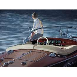 Iain Faulkner limited edition giclee print' Contemplating Return'