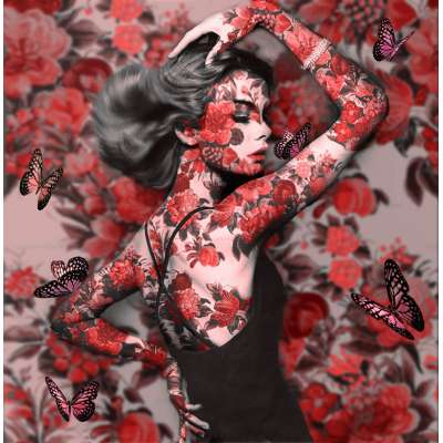 Dirty Hans - 'Dancing Beauty Red'