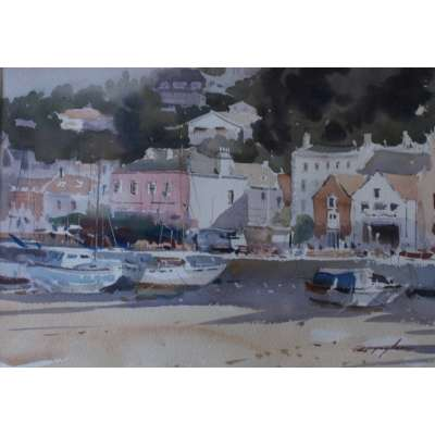 David Taylor - Dancing Shadows, St Aubin