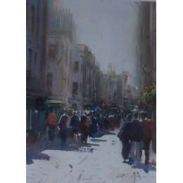 David Walker - A Walk in the Shadows, Queen Street