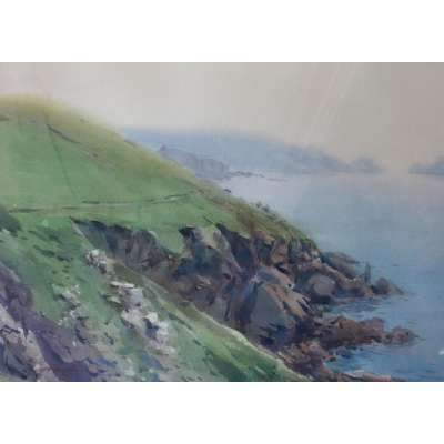 David Taylor - The Cliffs at Le Platon, Sark