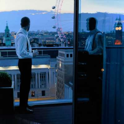 "Iain Faulkner ""London Evening"""