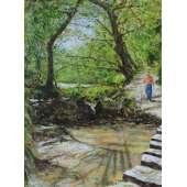 Vic. Perron - Dog Walking, St Catherine's Wood