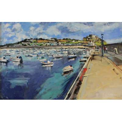 Paul Farraby - Harbour at Gorey