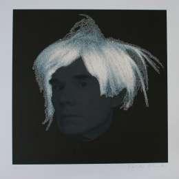 Peter Blake-Andy Warhol with Diamond Dust