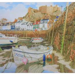Greg Pallot - Low Tide, Gorey Harbour