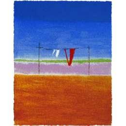 Craigie Aitchison 'Washing Line Montecastelli' 2004