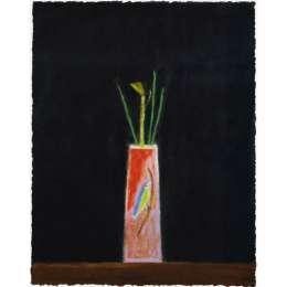 Craigie Aitchison 'Still Life with Bird Vase' 2004