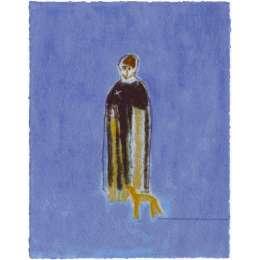 Craigie Aitchison 'Priest and Dog' 2004