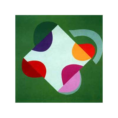 Sir Terry Frost silk screen 'Development of a Square (Green)'