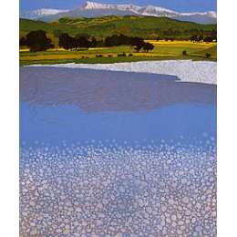 Phil Greenwood RE limited edition signed etching 'Cadair'