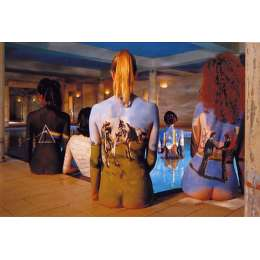 """Storm Thorgerson signed limited edition print """"Back 2 Back"""""""
