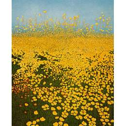 Phil Greenwood RE signed etching 'Buttercup Ridge'