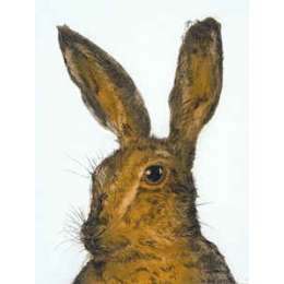 "Sonie Rollo signed limited edition etching ""Hare Professor"""